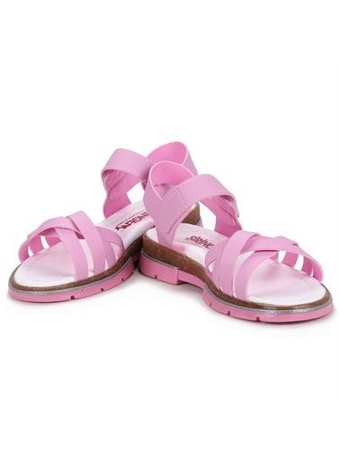 Kiko Kids  Şb 2722-27 Orto Pedik Kız Çocuk Sandalet Terlik Pembe